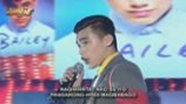 Bailey sings Gusto Kita