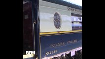 Embarquez à bord de l'Orient-Express, dont 7 wagons ont été rénovés par la SNCF