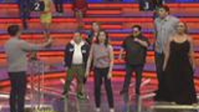 Ana Roces dances Zumba with the lucky stars