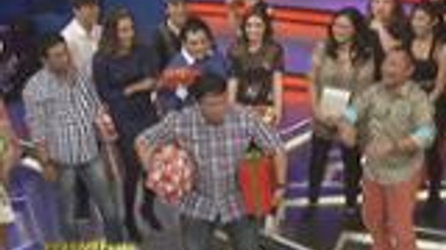 Luis and the lucky stars exhange gift