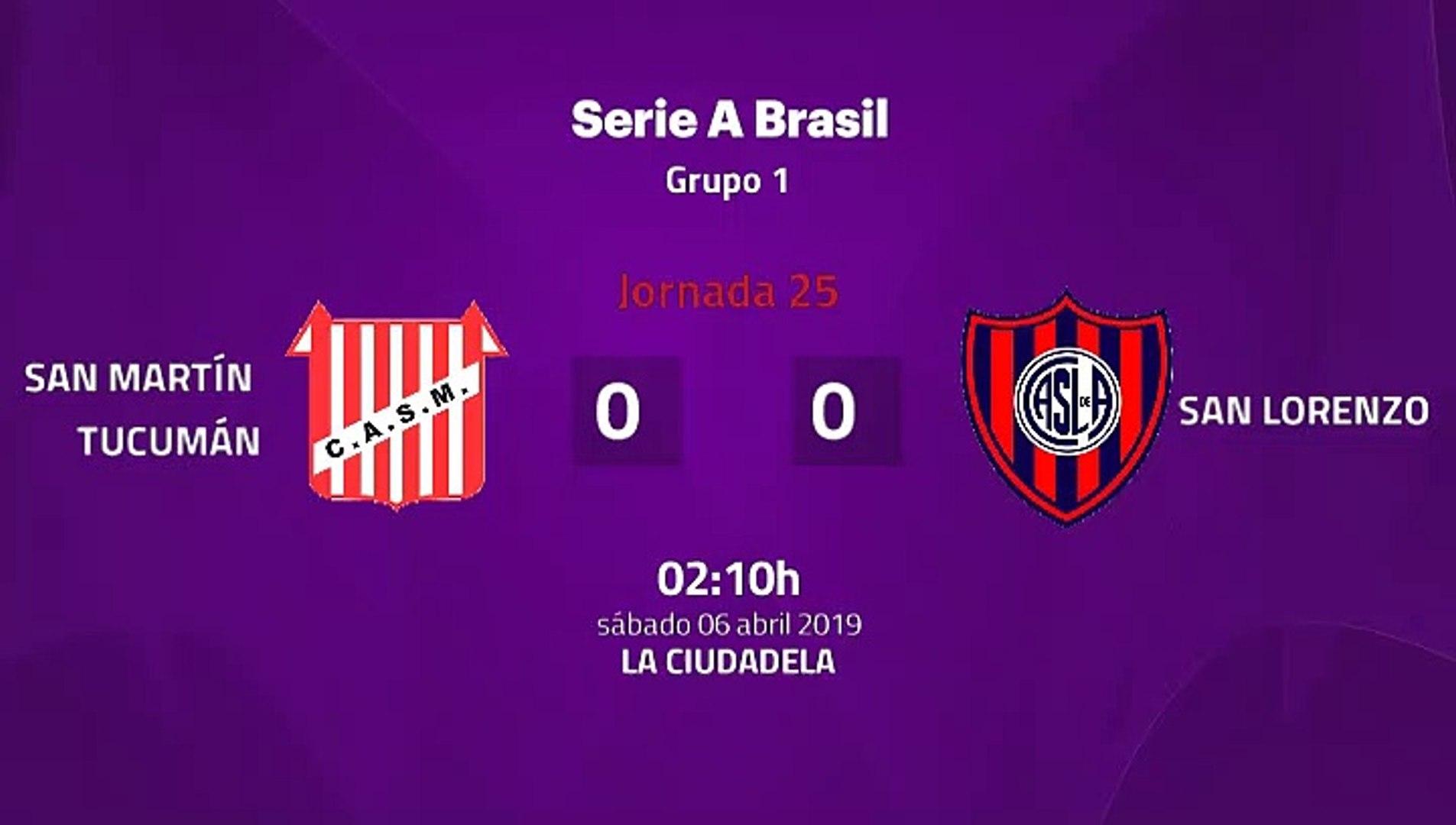 San Martín Tucumán-San Lorenzo Jornada 25 Superliga Argentina 06-04-2019_02-10