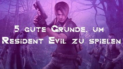 5 gute Gründe, um Resident Evil zu spielen