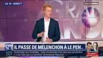 """""""Le sort des traîtres m'intéresse peu"""": Adrien Quatennens réagit au départ d'un conseiller régional LFI de son parti"""