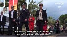 """Festival de Cannes: Riester salue """"une très belle sélection"""""""