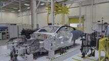 Aston Martin Factory - Body in White