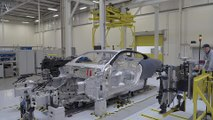 Aston Martin Factory - Body in White