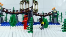 LEGO Ninjago | STOP MOTION | Ninja Train Robbery | LEGO Ninjago Sons of Garmadon | By Billy Bricks