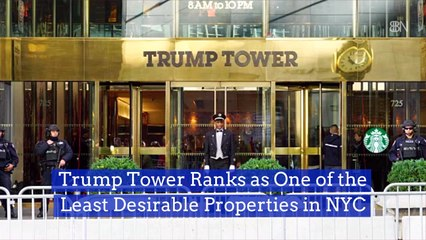 The Trump Tower Is Not As Popular Lately