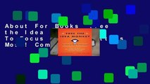 About For Books  Free the Idea Monkey...: To Focus on What Matters Most! Complete