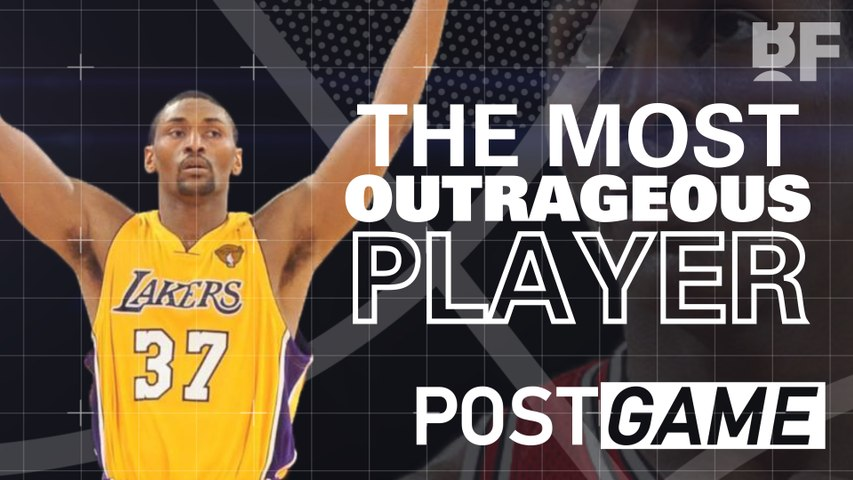 POST GAME   The Most Outrageous NBA Player