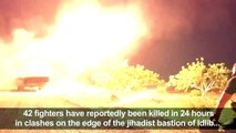 Syria: rebels target regime forces with missiles