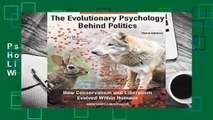 The Evolutionary Psychology Behind Politics: How Conservatism and Liberalism Evolved Within