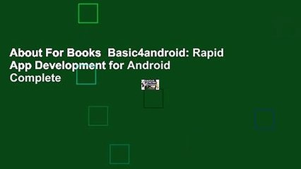 Basic4android Resource | Learn About, Share and Discuss