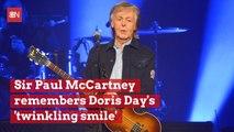 Sir Paul McCartney Talks About Doris Day