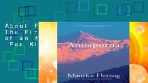 About For Books  Annapurna: The First Conquest of an 8,000-Meter Peak  For Kindle