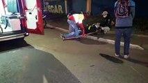 Homem de 41 anos sofre queda de moto na Rua Ipanema