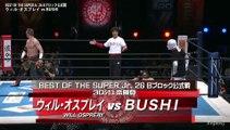 (NJPW BOSJ 2019 Day 2) Will Ospreay vs BUSHI