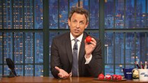 Seth Meyers Wants You to Pick Up a Red Nose for Red Nose Day