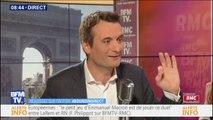 """Florian Philippot : """"On doit absolument sortir"""" de l'Union européenne"""