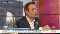 "Florian Philippot : ""Il faudra nationaliser le site d'Ascoval"" si British Steel fait faillite"