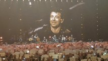 Le public belge a souhaité bon anniversaire à Patrick Bruel