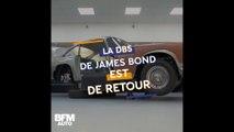 Aston Martin réédite la DB5 de James Bond...gadgets inclus !