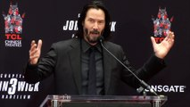 Keanu Reeves Full Speech at his Handprint and Footprint Ceremony