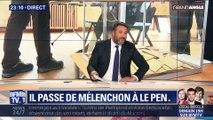 Européennes : il passe de Mélenchon à Le Pen