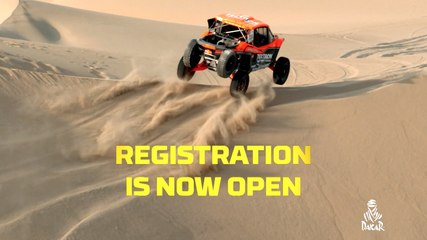 Registration opening - Dakar 2020