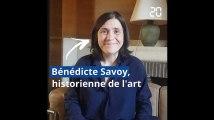 Elections européennes: L'Europe vue par l'historienne de l'art Bénédicte Savoy
