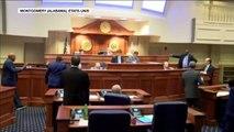 Vote pour l'interdiction quasi-totale de l'IVG en Alabama