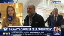"""""""J'ai horreur de la corruption."""" Patrick Balkany s'est défendu face aux juges"""