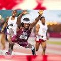 #Athlétisme: il plonge sur la ligne d'arrivée et remporte la médaille d'or du 400m