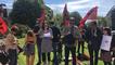 Le collectif AESH 14 manifeste devant la préfecture du Calvados
