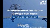 Ligne haute tension: Une maintenance de haute voltige