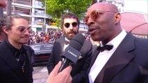 Oxmo Puccino, Kim Chapiron, Romain Gavras, Mouloud Achour et JR à la montée des marches -Cannes 2019
