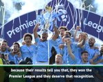 City and Pep are the best in the Premier League, not the world - Gracia
