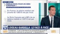 """Jordan Bardella estime qu'instaurer un SMIC européen """"n'a aucun sens"""""""