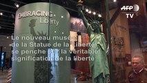 Nouveau musée pour la Statue de la Liberté, symbole de l'Amérique et de ses divisions