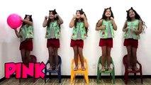 MARIA CLARA FOI CLONADA - Five little babies jumping on the bed song, learn colors Maria Clara