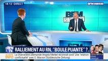 """Un élu passe de LFI au RN: """"C'est un coup monté, c'est une trahison politique et un naufrage personnel"""", Adrien Quatennens"""