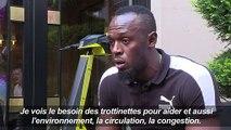 Usain Bolt prête son nom à une trottinette électrique