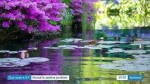 Claude Monet à Giverny, le peintre à la main verte