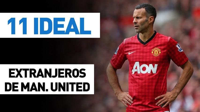 11 ideal | Extranjeros de Manchester United (todos los tiempos)