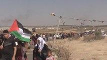 """Gaza conmemora la Nakba con la """"llave del retorno"""" y protestas sin muertos"""