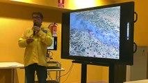José María Linares, director de Extinción del Cabildo de Tenerife, explica todos los detalles del incendio en El Teide
