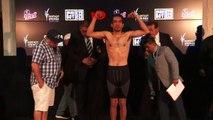 Sean Garcia Weigh In