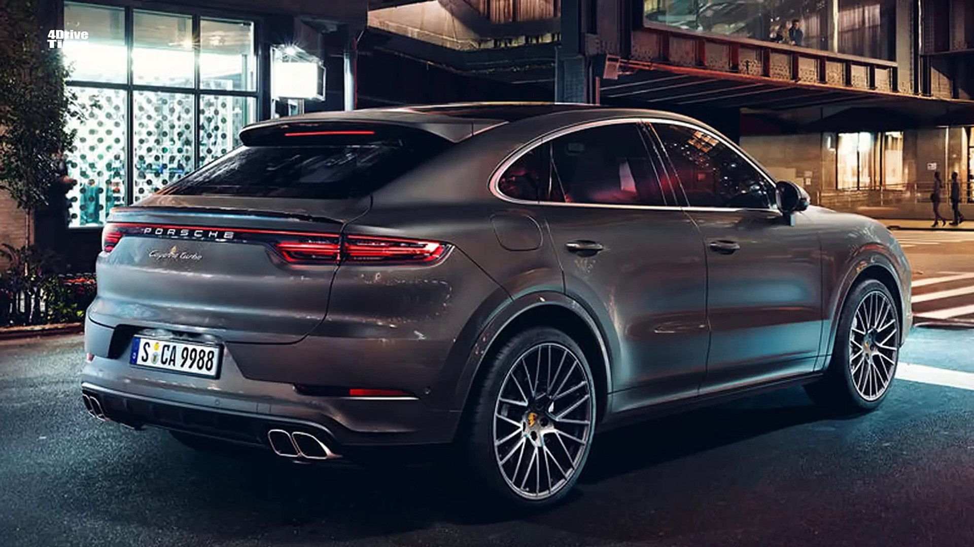 2020 Porsche Cayenne Turbo Coupe Interior Exterior And Drive Video Dailymotion