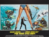 For Your Eyes Only movie (1981) Roger Moore - James Bond