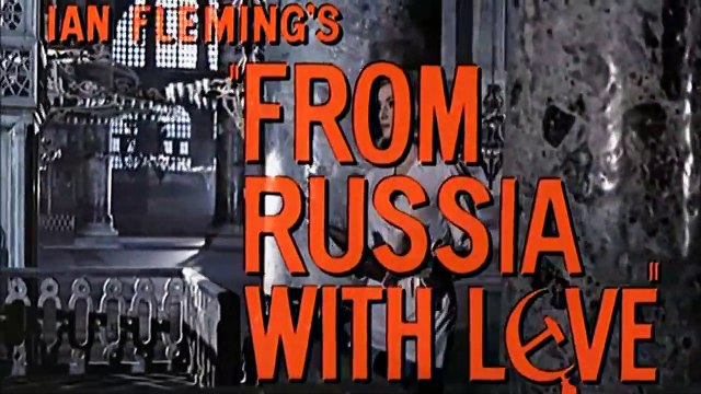 From Russia With Love Movie (1963) Sean Connery - James Bond Movie